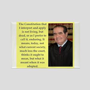 Antonin Scalia quote Magnets