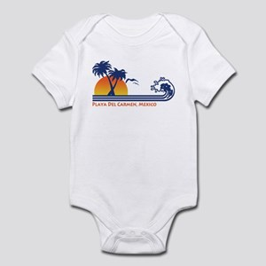 Playa Del Carmen Mexico Infant Bodysuit