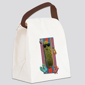 Beach Pickle Canvas Lunch Bag