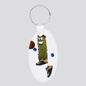 Basketball Pickle Keychains