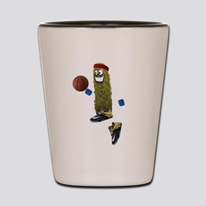 Basketball Pickle Shot Glass