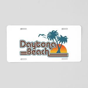 Daytona Beach Aluminum License Plate