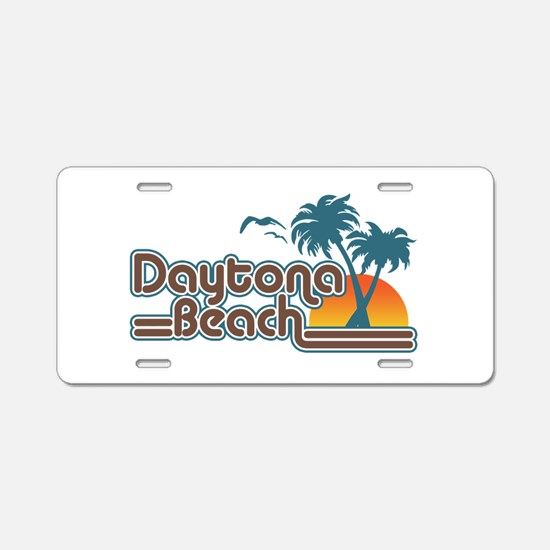 Daytona Beach Aluminum License Plate