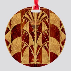 Harvest Moons Art Deco Panel Ornament