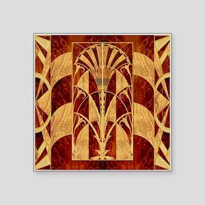 Harvest Moons Art Deco Panel Sticker