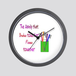 Dental Wall Clock