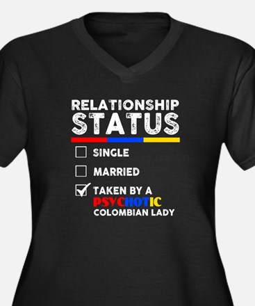 Relationship Status T Shirt Plus Size T-Shirt