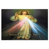 Divine mercy Wrapped Canvas Art
