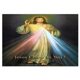 Divine mercy Framed Prints
