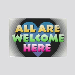 All Are Welcome Here Magnets
