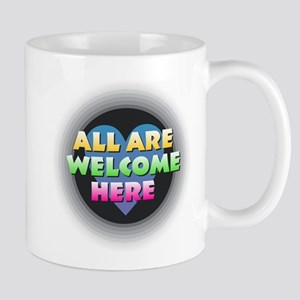 All Are Welcome Here Mugs