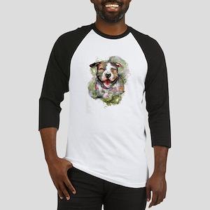 Puppy Dog Art Baseball Jersey
