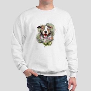 Puppy Dog Art Sweatshirt
