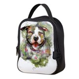Pitbull Neoprene Lunch Bag