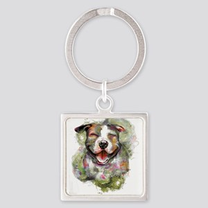 Puppy Dog Art Keychains