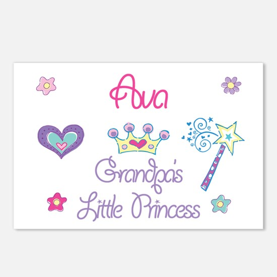 Ava - Grandpa's Little Prince Postcards (Package o