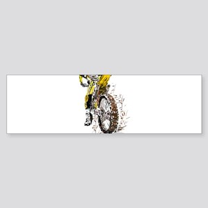 Motorcross Bumper Sticker
