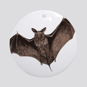 Bat Round Ornament