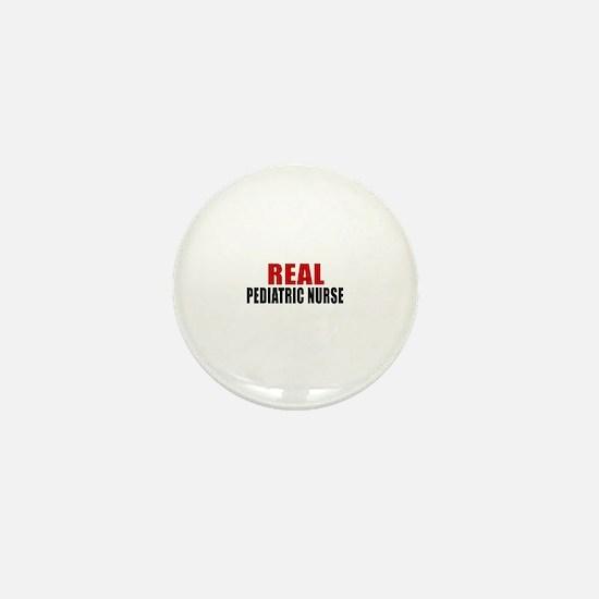 Real Pediatric Nurse Mini Button