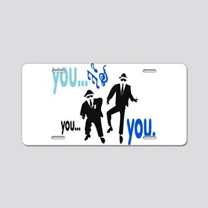 Brothers Aluminum License Plate