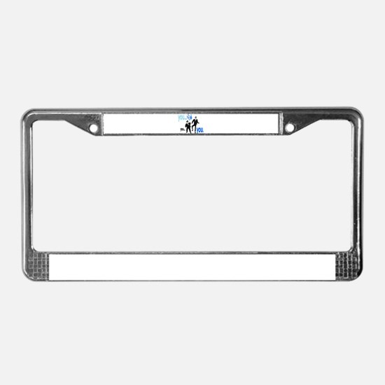 Brothers License Plate Frame