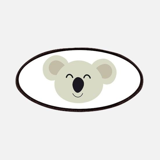 Happy Koala head Patch