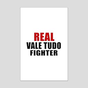 Real Vale Tudo Fighter Mini Poster Print