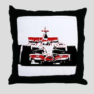 F 1 Throw Pillow