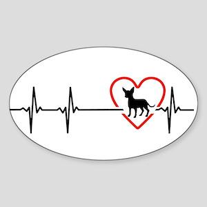 i love chihuahua Sticker