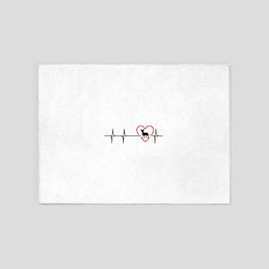 i love chihuahua 5'x7'Area Rug