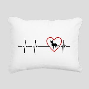 i love chihuahua Rectangular Canvas Pillow