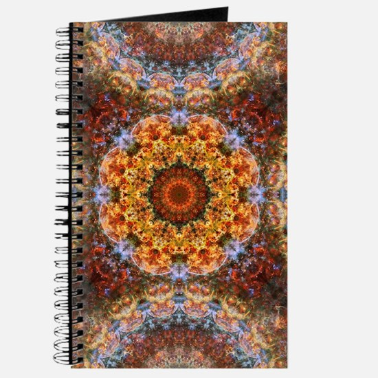Grand Galactic Alignment Mandala Journal