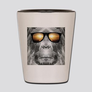 Bigfoot In Shades Shot Glass