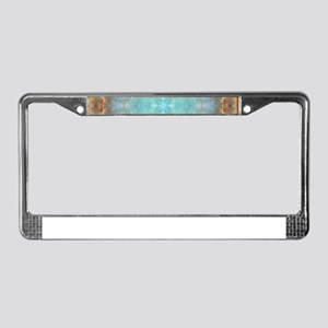 Grand Cross Mandala License Plate Frame
