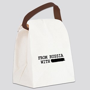 from russia with -------- Canvas Lunch Bag