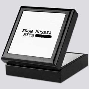 from russia with -------- Keepsake Box