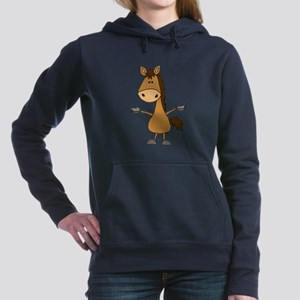 Funny Bay Horse Cartoon Sweatshirt