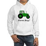 Farm Boy Green Tractor Hooded Sweatshirt