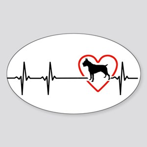 i love Boxer Sticker