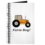 Farm Boy Orange Tractor Journal