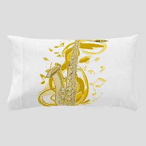 Saxephone Pillow Case