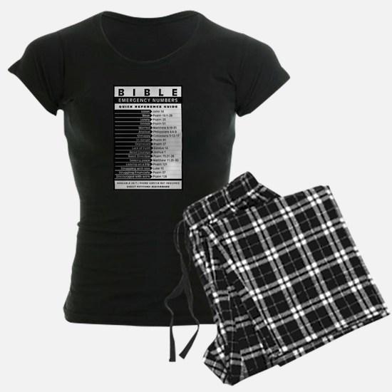 Bible emergency numbers Pajamas