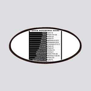Bible emergency numbers Patch