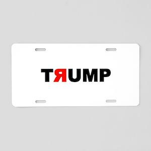 TRUMP Aluminum License Plate