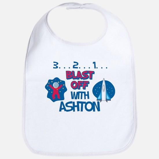 Blast Off with Ashton Bib