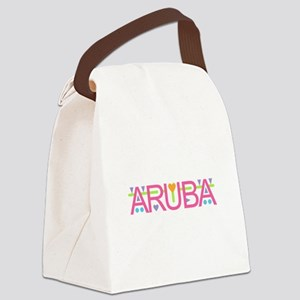 Aruba Canvas Lunch Bag