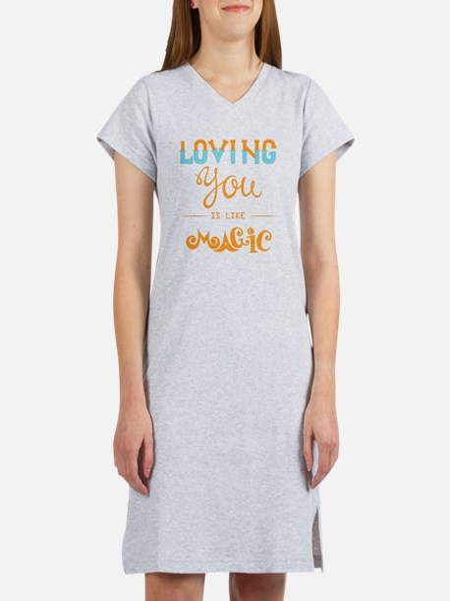 Cute Creative romantic Women's Nightshirt