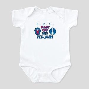 Blast Off with Benjamin Infant Bodysuit