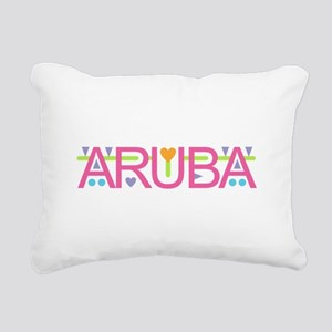 Aruba Rectangular Canvas Pillow