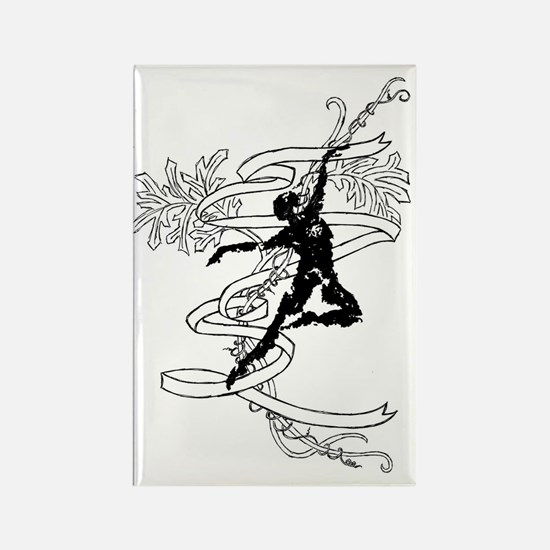 Funny Figure Rectangle Magnet